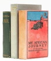 Africa.- Churchill (Winston S.) My African Journey, first edition in book form, 1908; and others …
