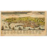Italy.- Jefferys (Thomas) A South View of the City of Genoa, 1747.