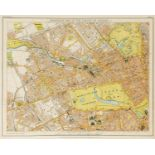 London.- Stanford (Edward) Stanford's New Map of the County of London, On the Scale of Four Inches …