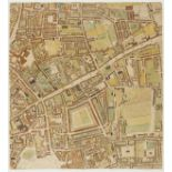 London.- Horwood (Richard) Twenty map sheets from 'Plan of the Cities of London and Westminster, …