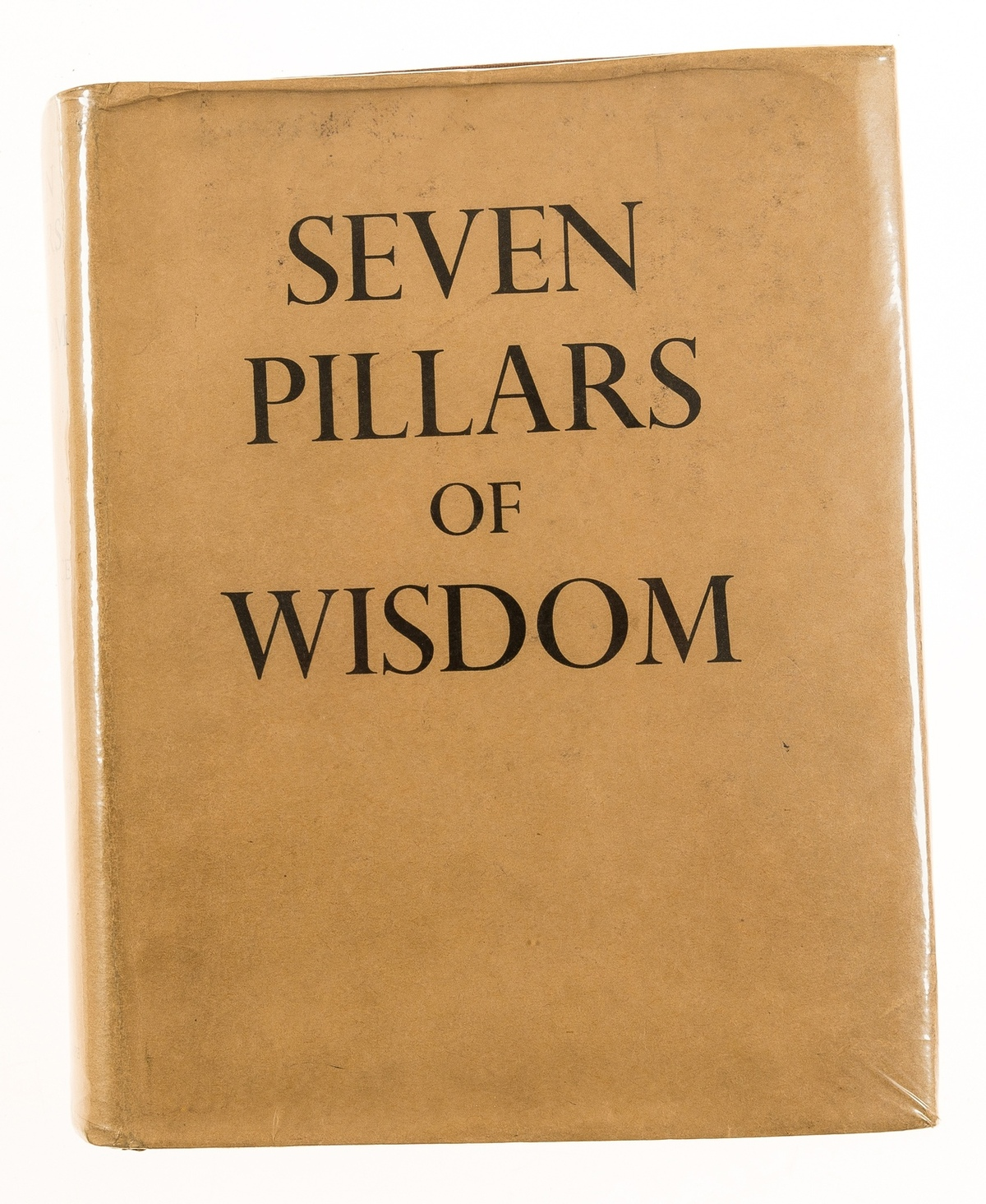 Middle East.- Lawrence (T.E.) Seven Pillars of Wisdom..., first trade edition, original cloth, …