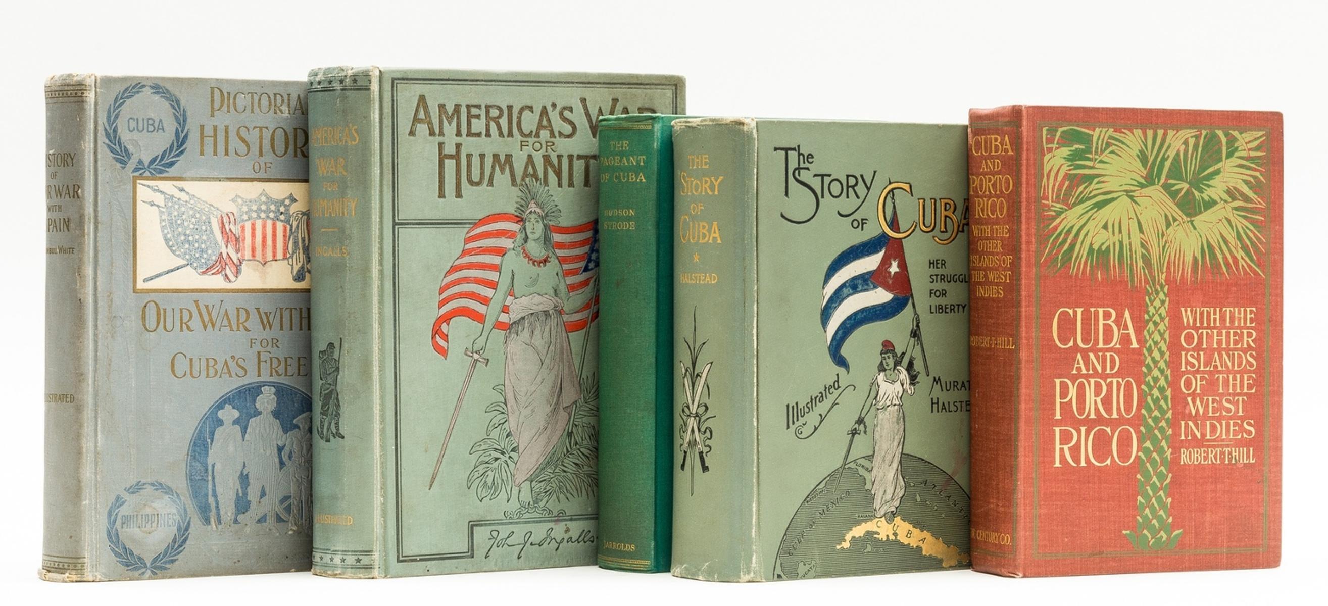 Cuba.- Hill (Robert) Cuba and Porto Rico, 1898; and 4 others similar (5)