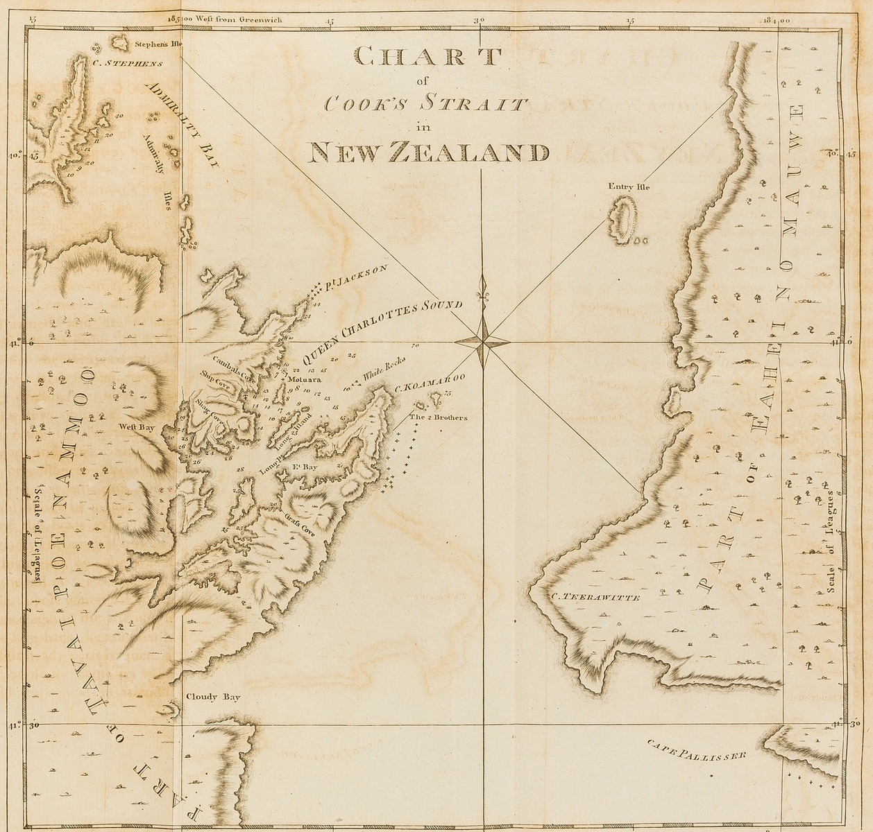 World.- Cook's Voyages.- Hawkesworth (John) [First Voyage] An Account of the Voyages...in the …