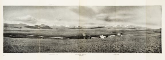 Asia.- Carruthers (Douglas) Unknown Mongolia, 2 vol., first American edition, Philadelphia, 1914.