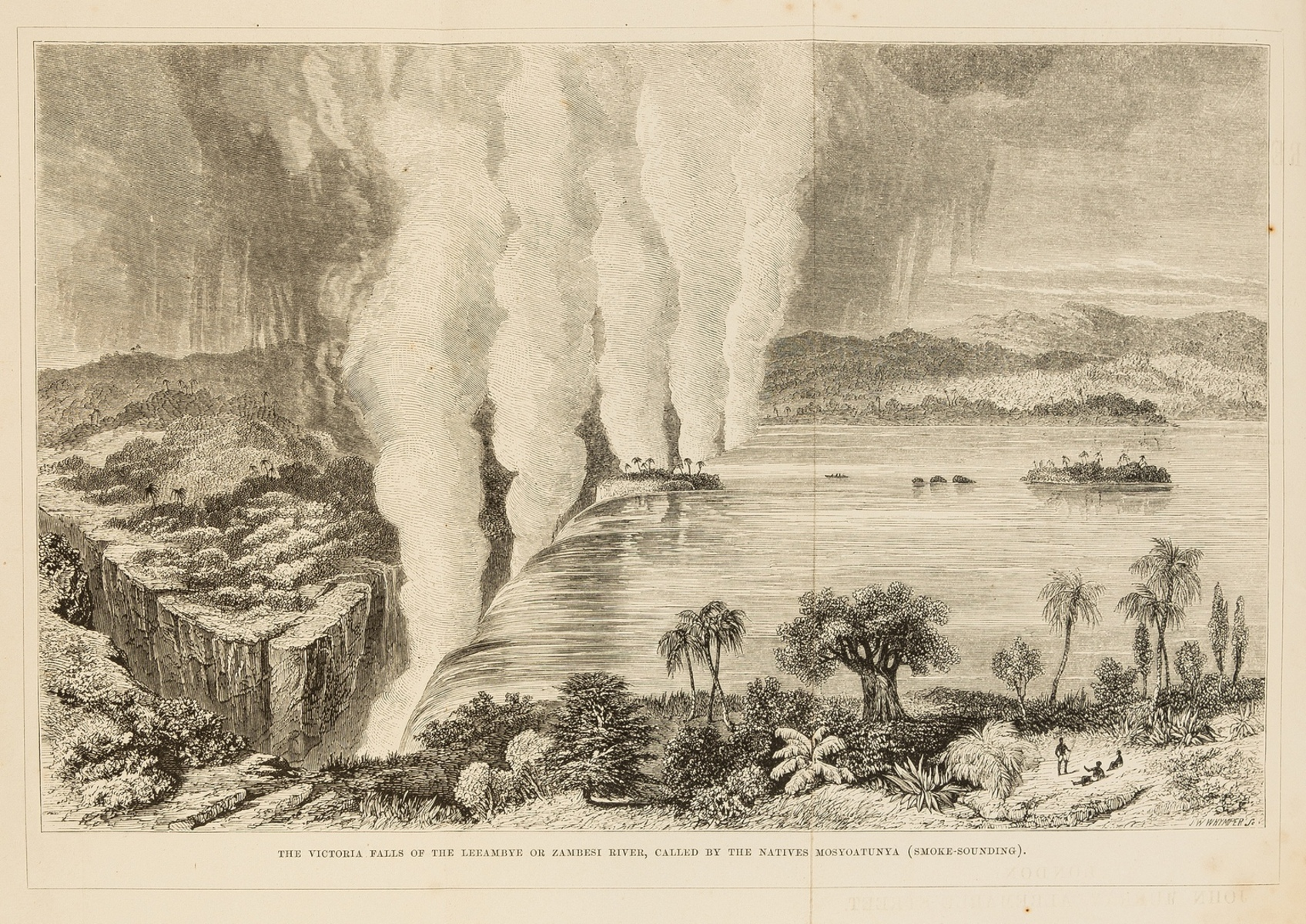 Africa.- Livingstone (David) Missionary Travels and Researches in South Africa, first edition, 1857.