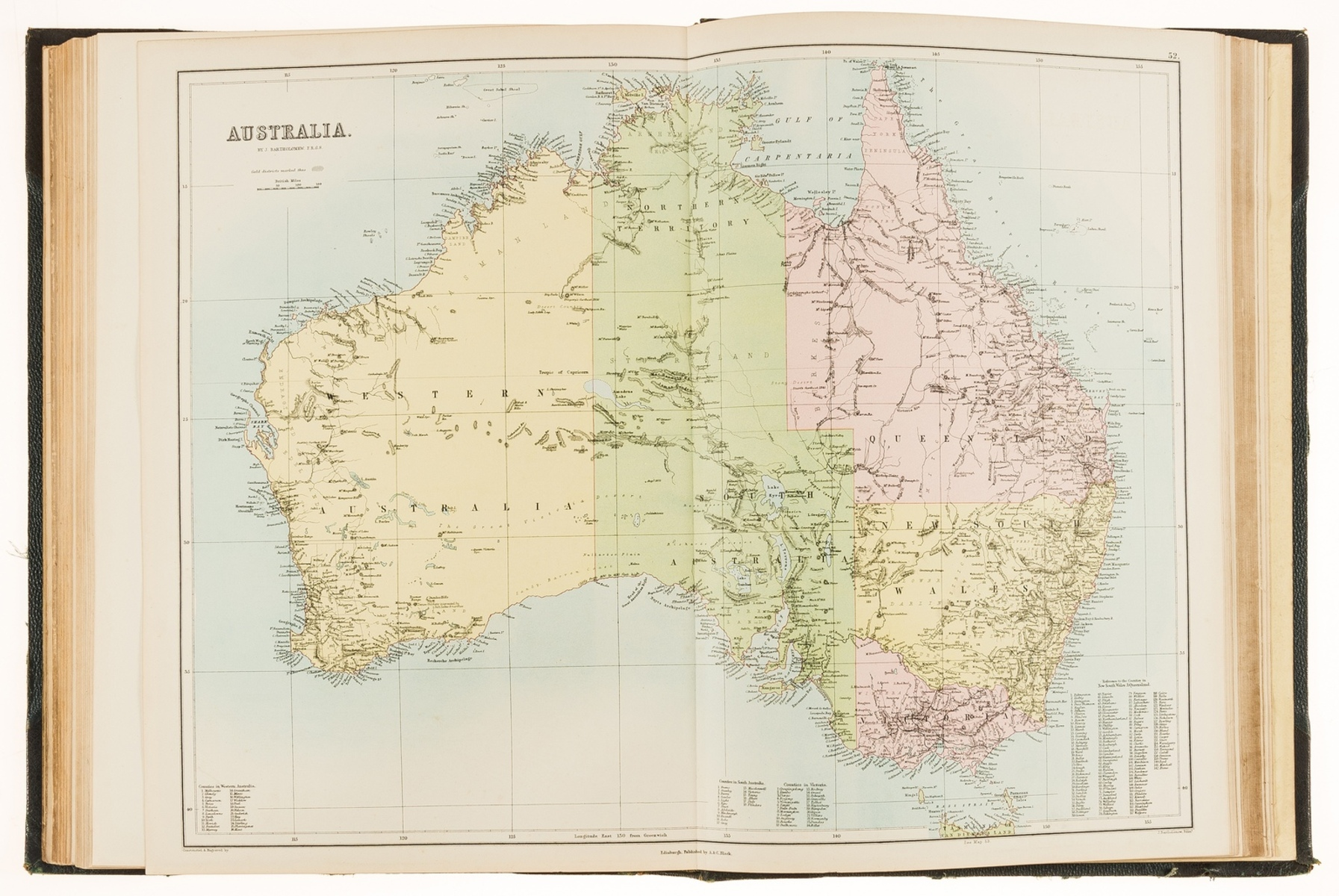 Atlases.- Black (Adam and Charles) Black's General Atlas of The World, New and Revised Edition, …