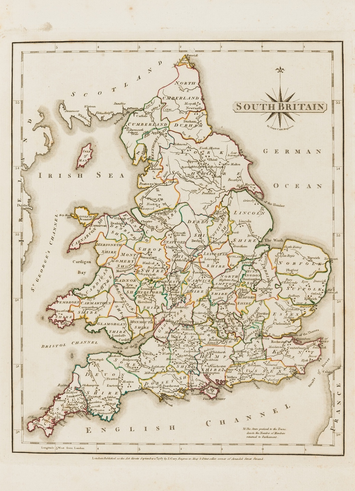 Britain.- Cary (John) New and Correct English Atlas: being a New Set of County Maps ..., John …