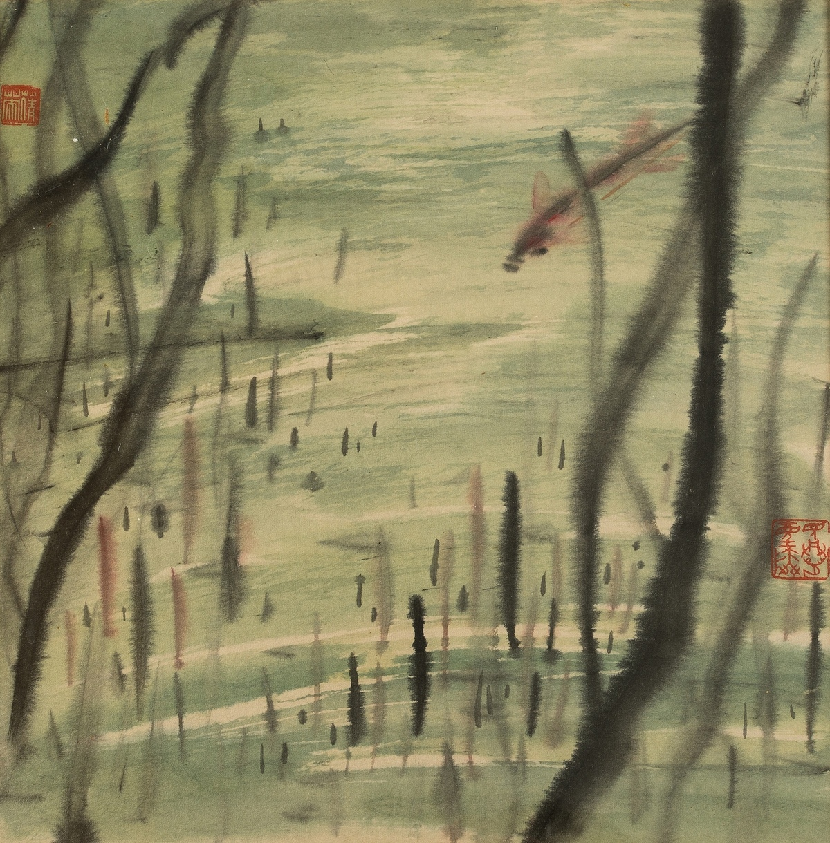 China.- Chang (Chien-Ying) Under the water, 1955.