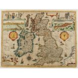 British Isles.- Speed (John) The Kingdome of Great Britaine and Ireland, First edition, [c. 1611].