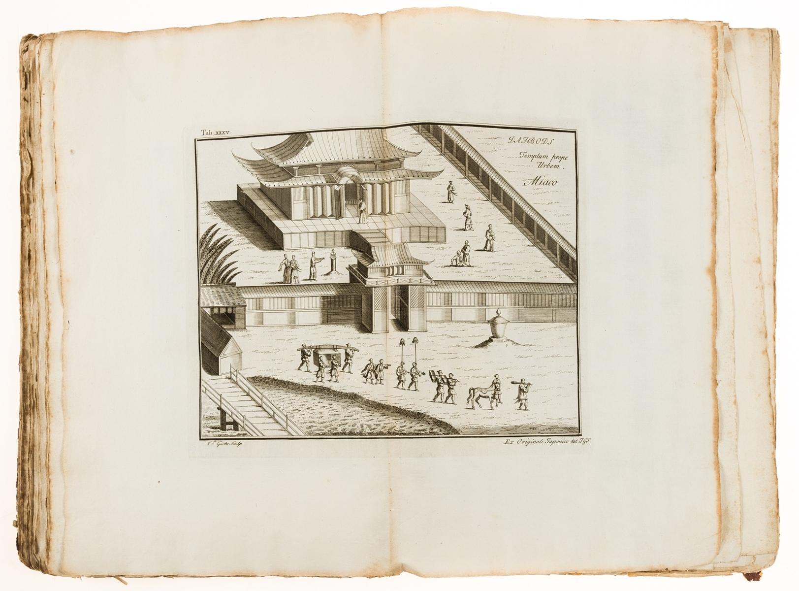 Japan.- Kaempfer (Englebert) Historia Imperii Japonici [The History of Japan], translated by J. … - Image 2 of 3