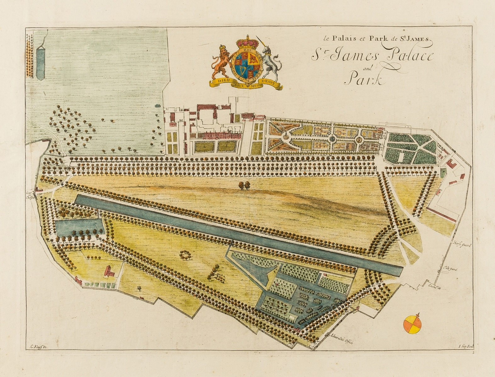 London.- Collection of 20 detailed plans of parks and boroughs of London, [mainly 18th and 19th …