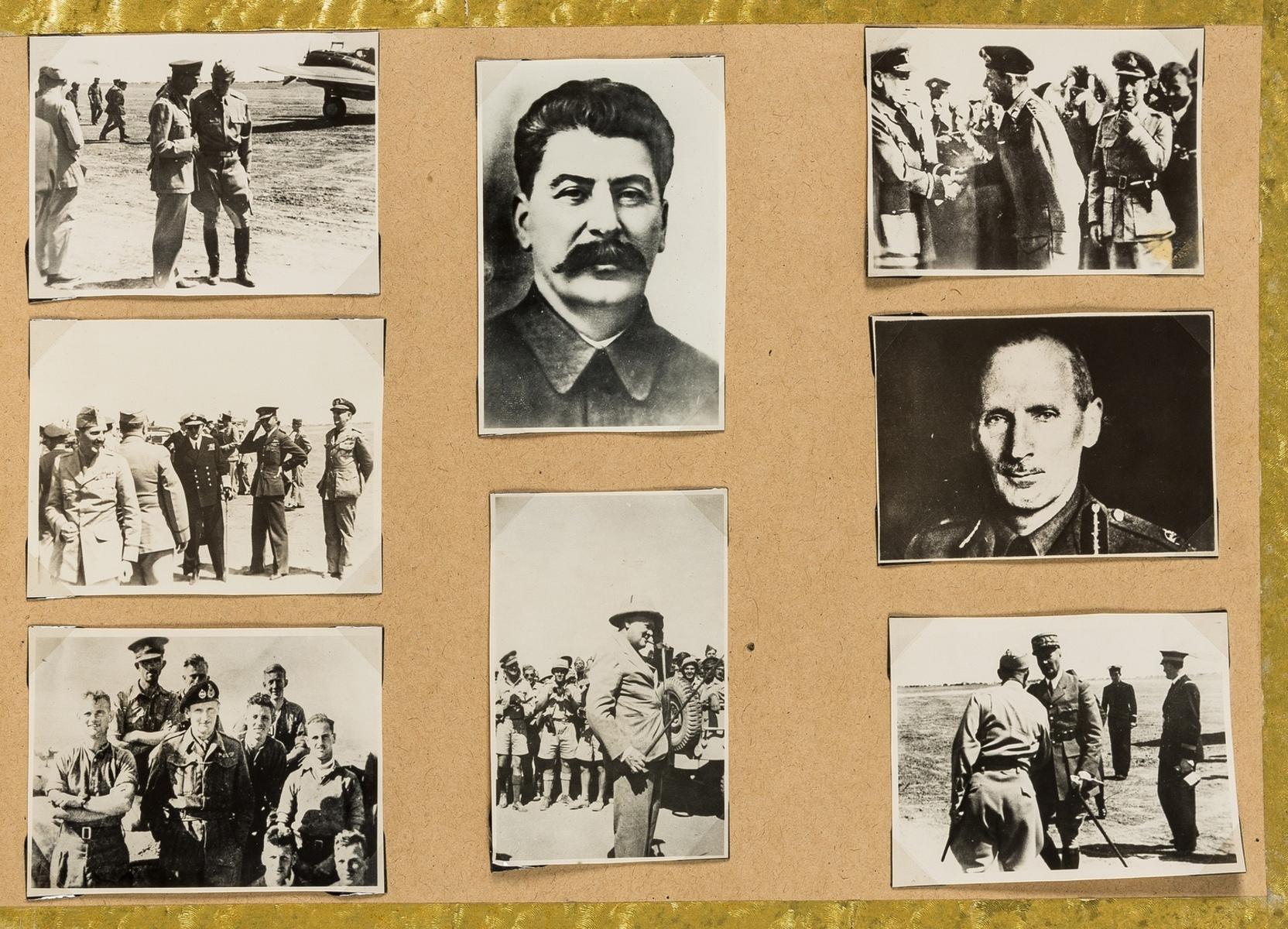 World.- Photo album, c.600 photographic prints, c.1940's. - Image 2 of 3