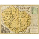 Switzerland.- Homann Heirs (publisher) Canton Glarus sive Pagus Helvetiae Glaronensis cum Satrapia …