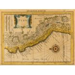 South America.- Collection of nine maps of South American countries and regions, 18th and 19th …