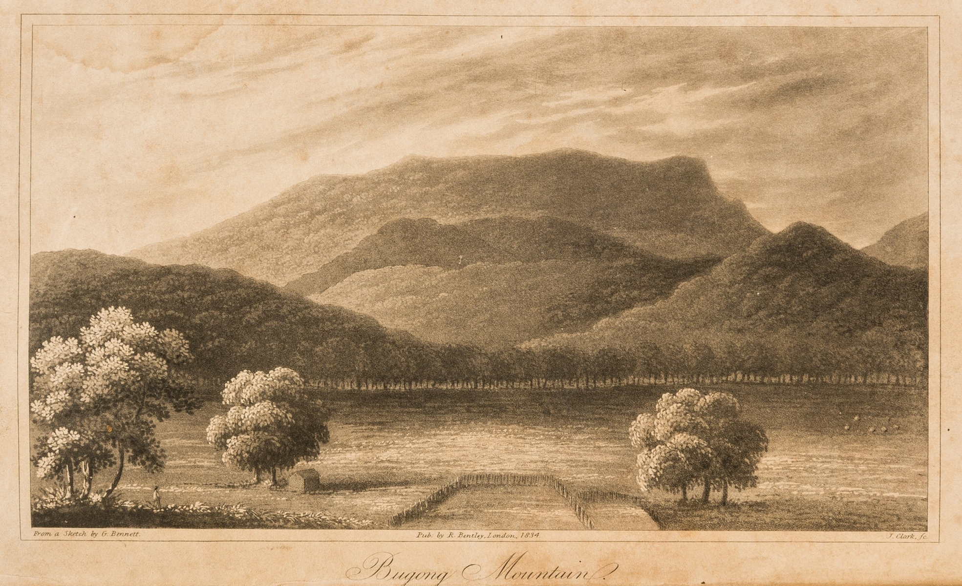 Australia, Singapore, Malaysia and China.- Bennett (George) Wanderings in New South Wales, …