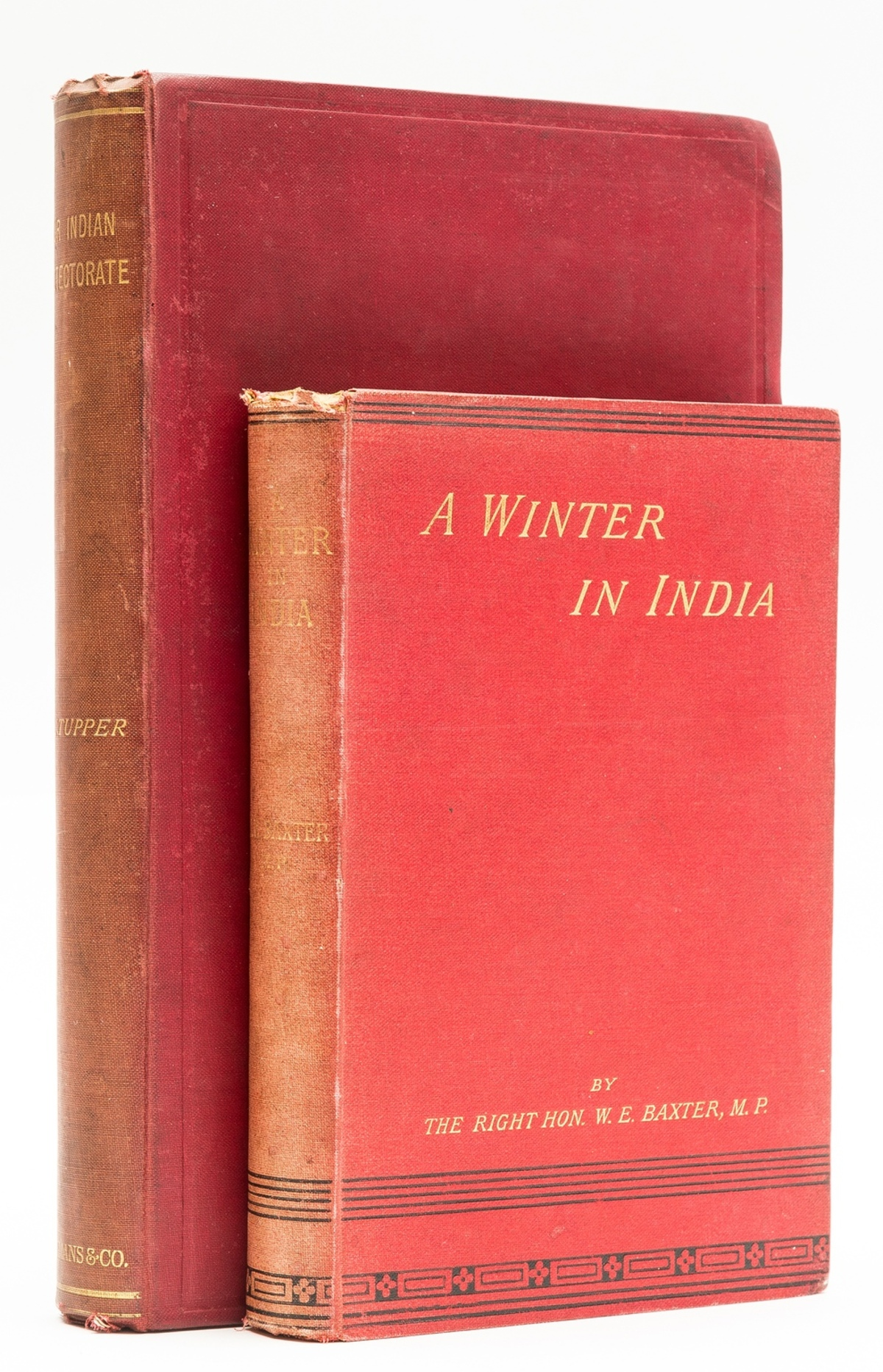 India.- Tupper (Charles Lewis) Our Indian Protectorate, first edition, presentation copy, 1893.