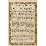 Britain.- Ogilby (John) and Emmanuel Bowen. Britannia Depitca or Ogilby Improv'd ..., fourth …