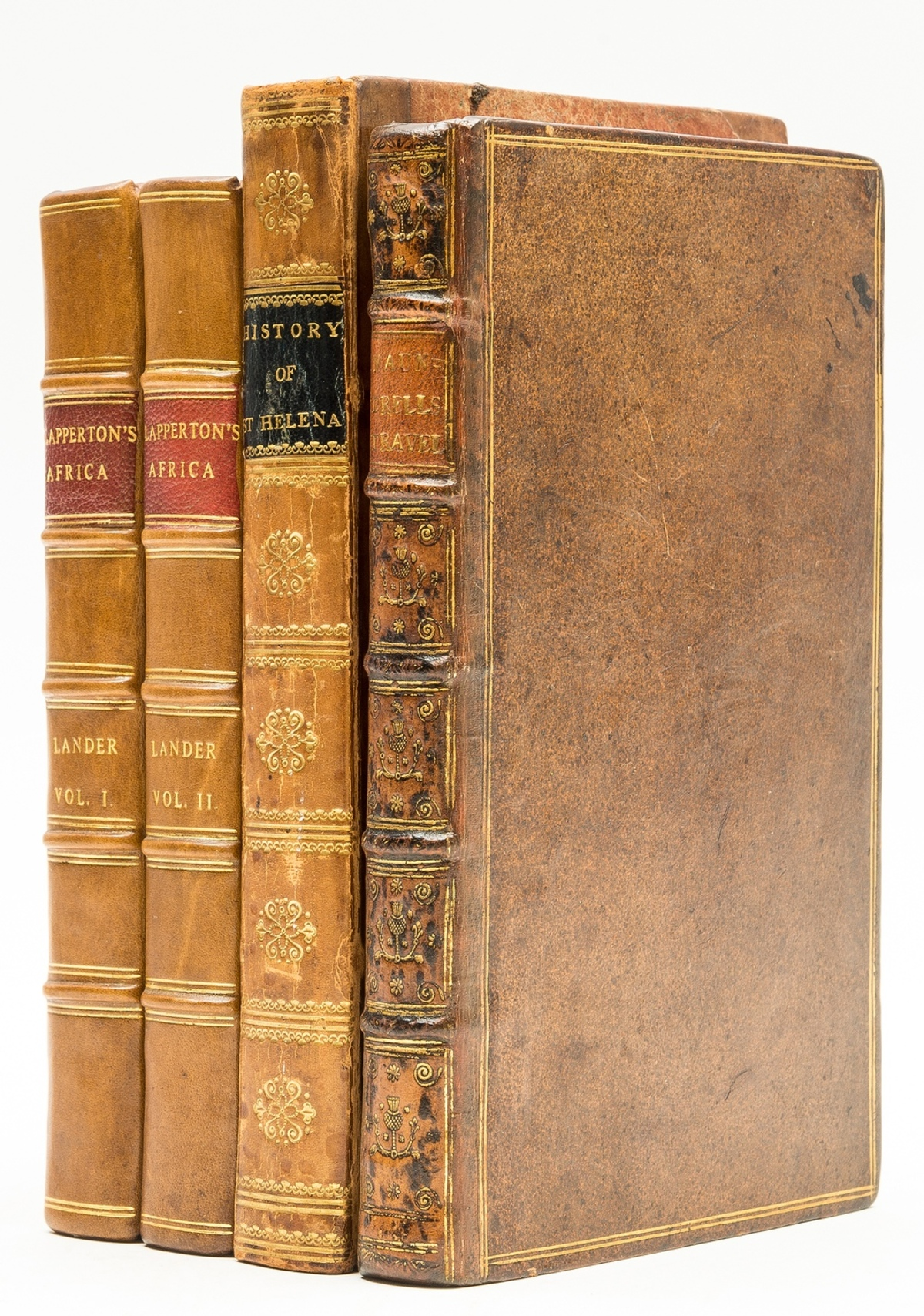 Africa.- Lander (Richard) Records of Captain Clapperton's Last Expedition to Africa, 2 vol., first …