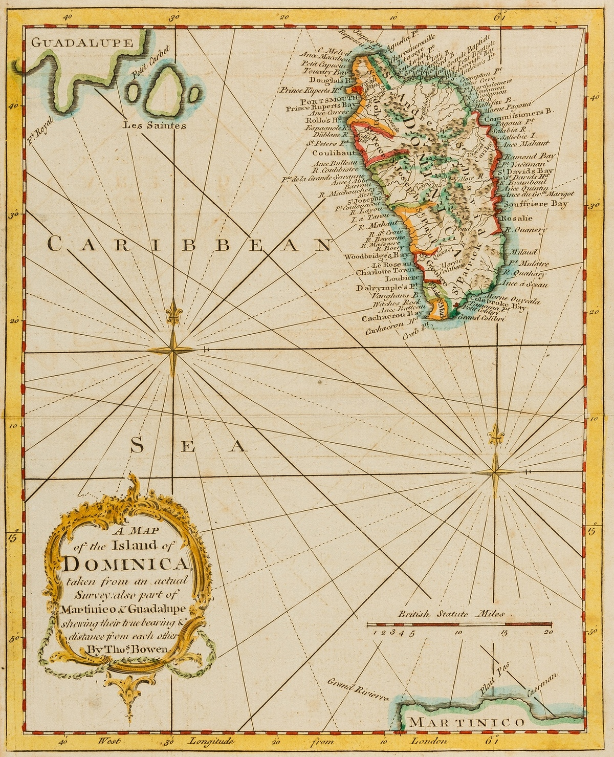 West Indies.- Collection of 29 West Indian views and maps, 18th and 19th century (29)