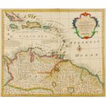 West Indies.- Bowen (Emanuel) A New and Accurate Map of Terra Firma and the Caribbe Islands, [c. …