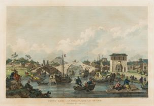China.- Alexander (William) and Sir George Staunton. Three plates from 'An Authentic Account of An …