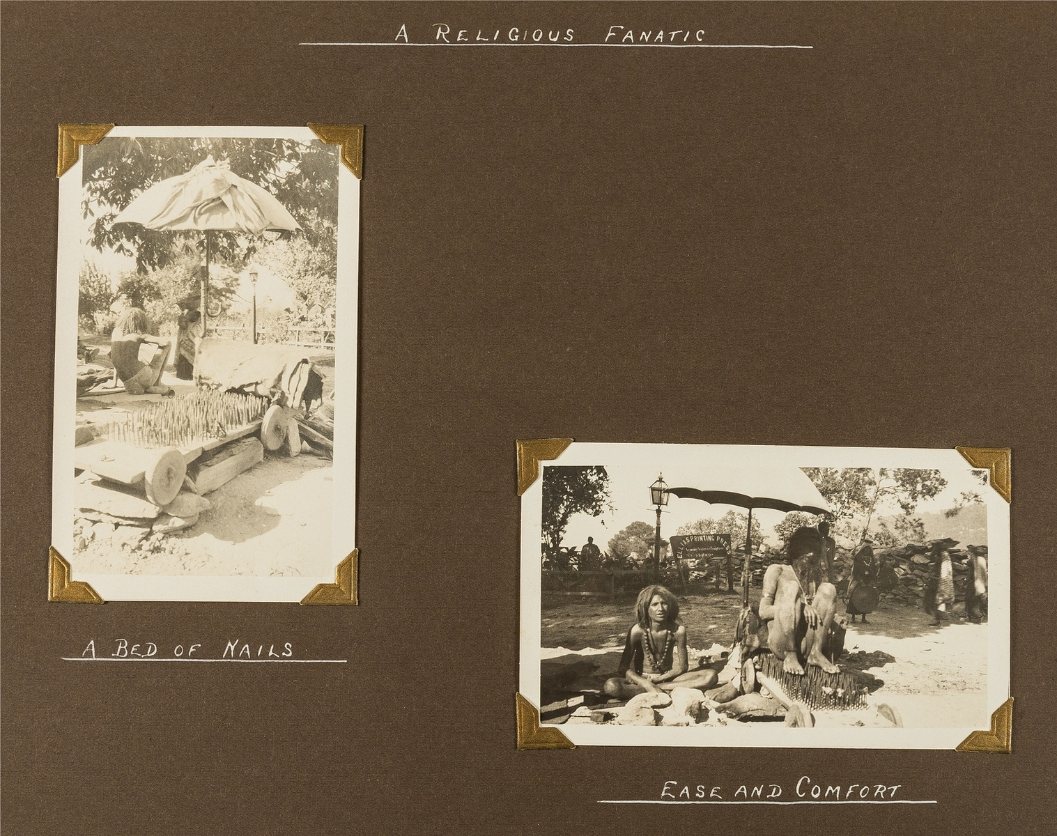 India.- Photo album, c.195 photographic prints, c.1920s-30s.