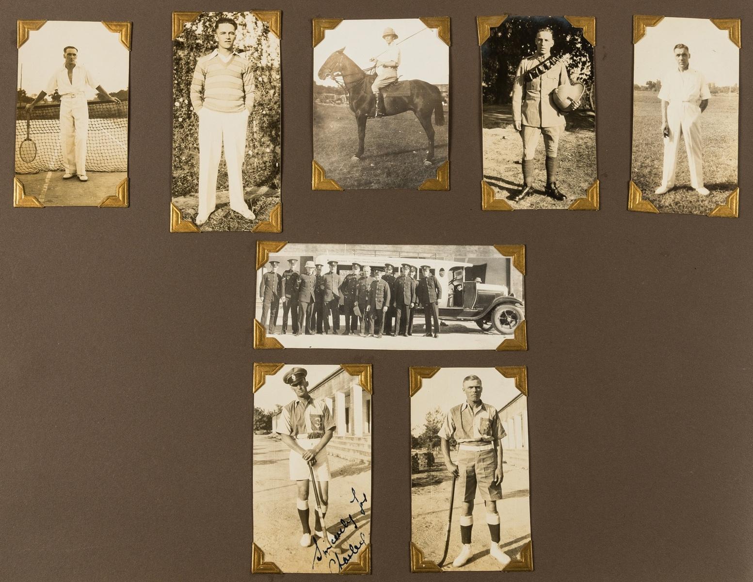 India.- Photo album, c.195 photographic prints, c.1920s-30s. - Image 4 of 4