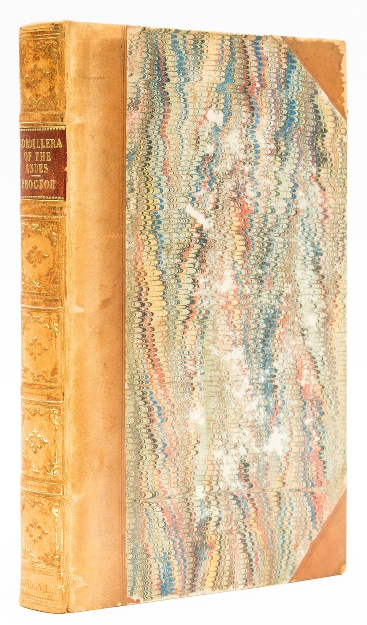 South America.- Proctor (Robert) Narrative of a Journey across the Cordillera of the Andes ..., …