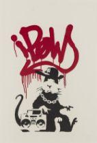 Banksy (b.1974) Gangsta Rat