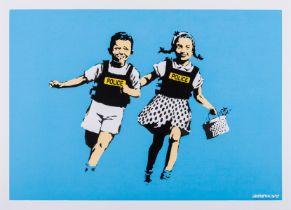 Banksy (b.1974) Police Kids (Signed)
