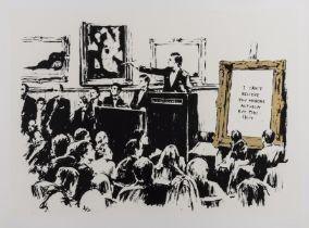 Banksy (b.1974) Morons (LA Edition)