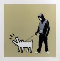 Banksy (b.1974) Choose your weapon (Khaki) (Signed)