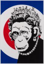 Banksy (b.1974) Monkey Queen
