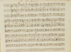 Owned by a friend of Southey.- Music.- An album of manuscript and printed music, 1810.