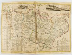 Kent.- Philipott (Thomas) Villare Cantianum: or Kent Surveyed and Illustrated, first edition, by …
