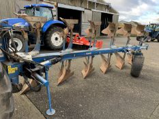 2009 Rabe Raven 6f reversible plough