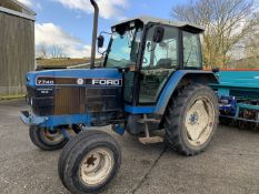 1993 Ford 7740 Powerstar SLE 2wd tractor L793 VKH, 4380 hours, 13.6R38 rear tyres with 60% tread,