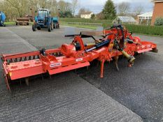 2014 Maschio Aquila Rapido 6m folding power harrow and spare tines