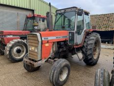 1985 Massey Ferguson 699 2wd tractor, C216 CAT, 7992 hours, runner, 420/85R38 rear tyres with