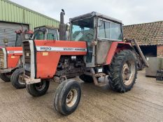 1983 Massey Ferguson 2620 2wd tractor, A654 MRH, 6861 hours, 16.9R38 rear tyres with