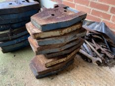 9 Ford wafer weights
