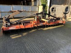 Maschio 4.5m power harrow with transport kit and spare tines