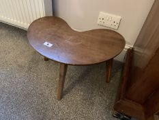 Kidney shaped table NO VAT