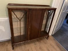 Glass fronted cabinet NO VAT