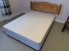 Double divan bed NO VAT