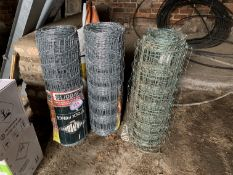 2 new & 1 part pig nets