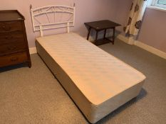 Single divan bed NO VAT