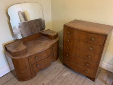 Dressing table & chest of drawers NO VAT