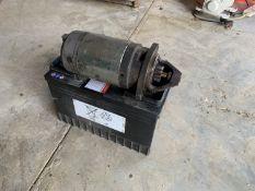 Battery & starter motor