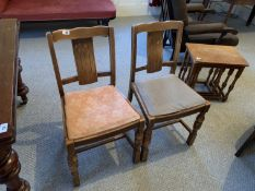 2 dining chairs NO VAT